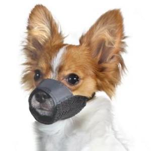 Мягкий намордник для маленьких собак
