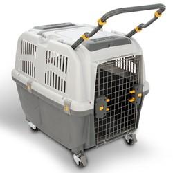 Большой контейнер на колёсах для собак